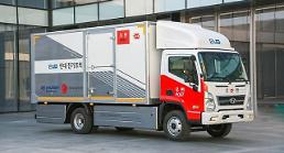 .Hyundai partners with postal service to test electric cargo truck delivery.