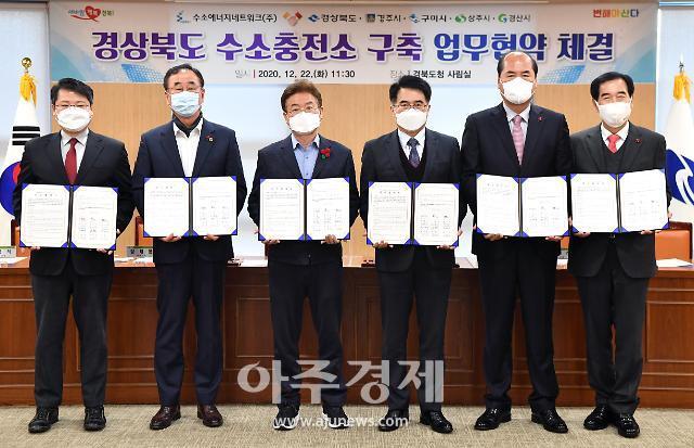 경북도, 경주·구미·상주·경산에 수소충전소 설치 추진