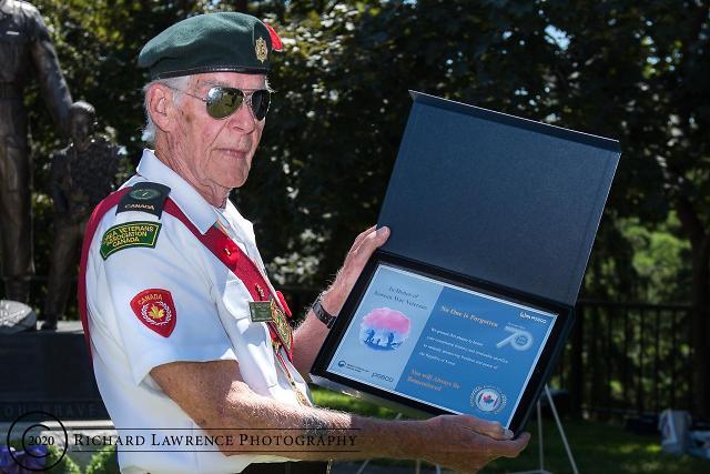 포스코, 6·25 전쟁 참전용사들에 감사패 증정