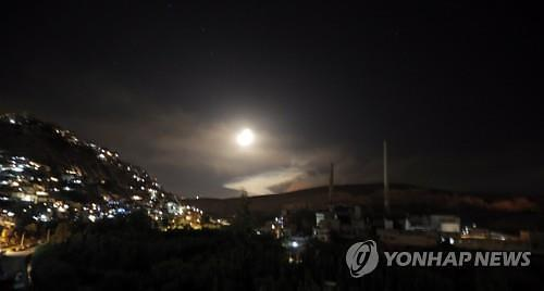 이스라엘, 크리스마스에 시리아 공습