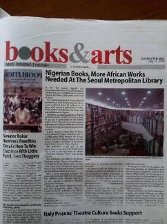 [나이지리아 LEADERSHIP Newspaper] 양국 출판산업 교류 관련 보도