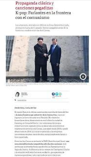 [아르헨티나 Clarin] 남북관계와 DMZ의 선전방송 관련 보도