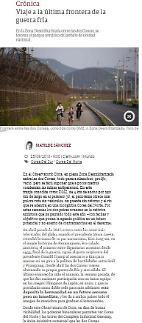 [아르헨티나 Clarin] DMZ 방문 취재