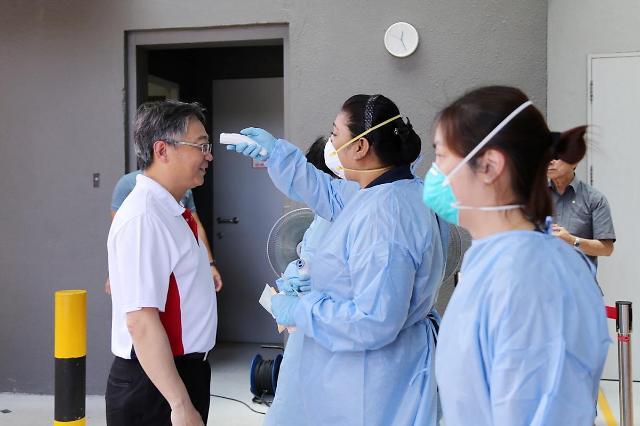 [NNA] 싱가포르 28일 신규 확진자 5명... 이중 1명이 국내감염