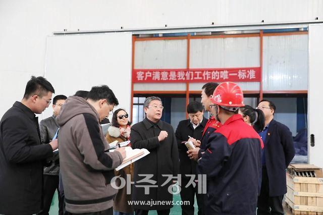 옌타이 고신구, 기업인과 현장교류회 개최 [중국 옌타이를 알다(530)]