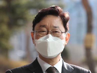 박범계, 서울고검 사무실 첫 출근...尹관계 질문엔 청문회장에서