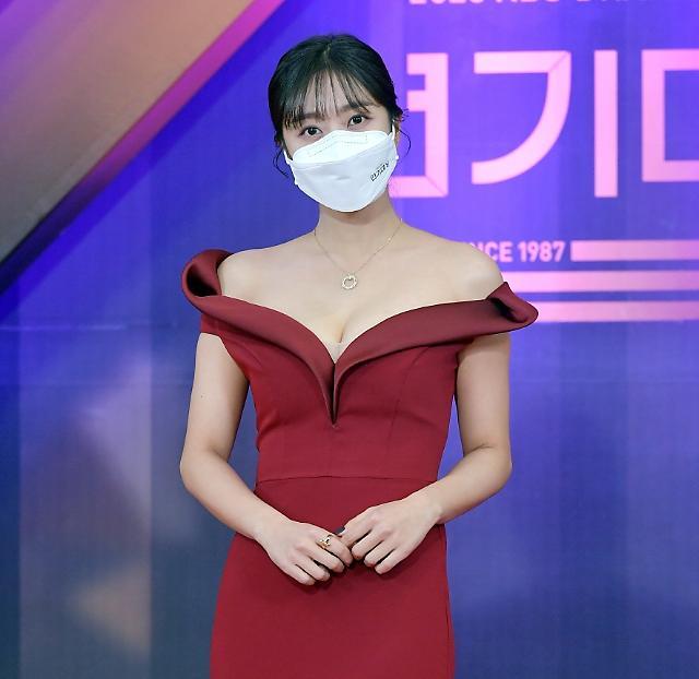 [포토] 조보아, 여자 인기상 수상 (2020 KBS 연기대상)