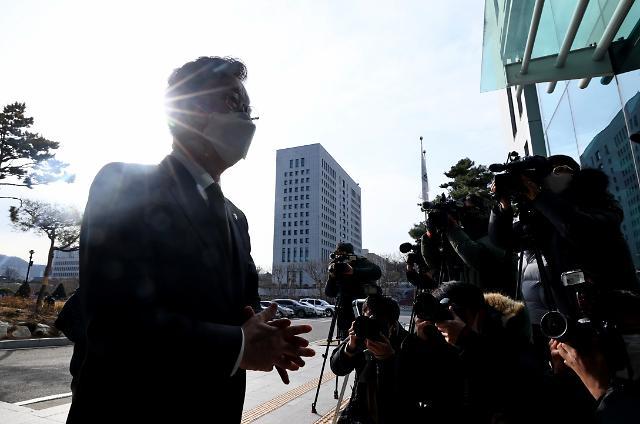 """[속보] 박범계 """"검사들, 검찰개혁에 동참해달라"""""""