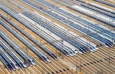 [NNA] 中 지난해 철도 이용객, 40% 감소