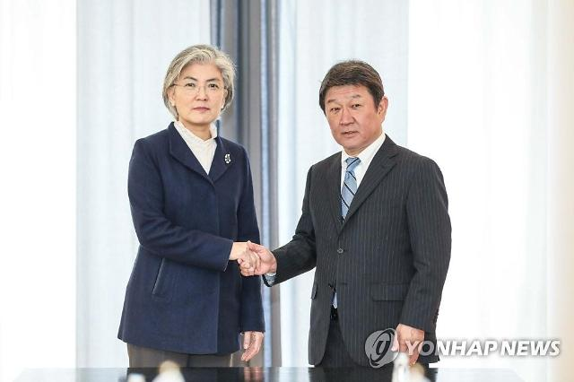 """강경화, 위안부 판결 반발 日에 """"과도한 반응 자제"""" 주문"""