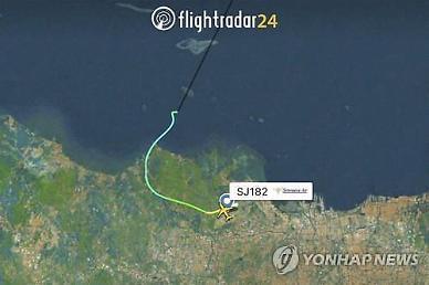 인니서 62명 탑승 보잉737 여객기 추락(종합)