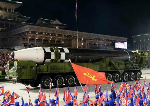 朝鲜疑深夜举行阅兵式 规模较去年有所缩小
