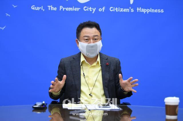 """안승남 구리시장, 법원 가처분 기각에 """"한강변도시개발 더욱 탄력 붙을 것"""""""