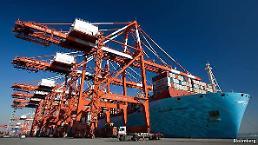 1月1~10日の輸出112億ドル、前年同期比15.4%↓・・・一日の平均輸出額は5.8%↑