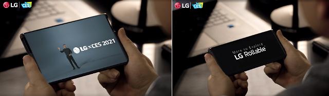"""""""6 인치 폰에서 7 인치 태블릿으로""""… LG Rollable CES에서 데뷔"""