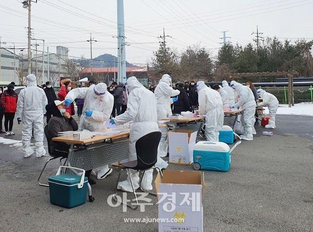 [코로나19] 나주시 농공단지 외국인 근로자 전수검사