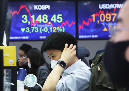 韩国股市变动性指数创7个月来新高
