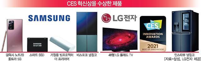 """[CES 2021] 韓 기업 혁신상 100여개 수상... """"IT 기술 우수성 세계에 입증"""""""
