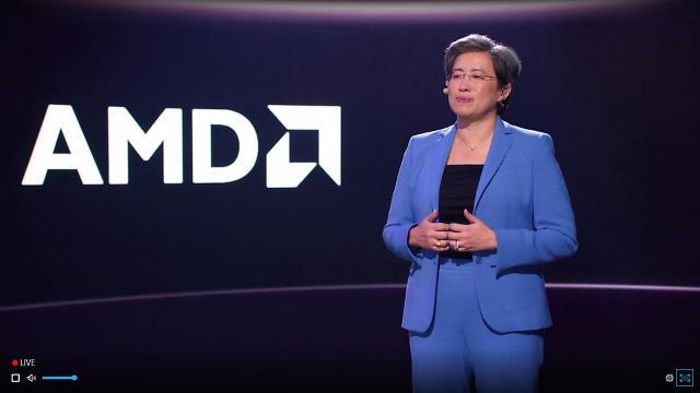 "[CES 2021] Intel Sniper'blue Suit 'Lisa Su, AMD CEO, ""올해 고성능 컴퓨팅 시장을 주도"""