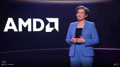 "[CES 2021] 인텔 저격 '파란옷' 리사 수 AMD CEO ""올해 고성능 컴퓨팅 시장 주도"""