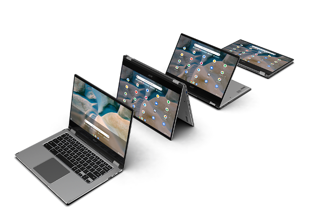 [CES 2021] 에이서, AMD 라이젠 프로세서 탑재 '크롬북 스핀 514' 공개