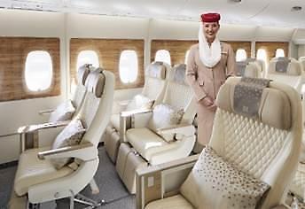 에미레이트항공, 프리미엄 이코노미 좌석 도입...넉넉한 공간·대화면