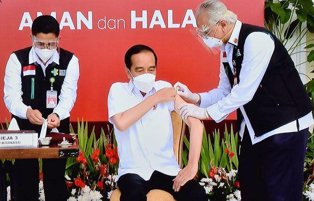 [NNA] 印尼, 백신접종 개시... 中 시노백 백신