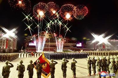 北 14일 저녁 김일성광장서 열병식 실시 중…北매체 보도는 無