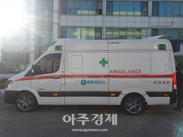 춘천시, '음압특수구급차' 도입 효과 톡톡