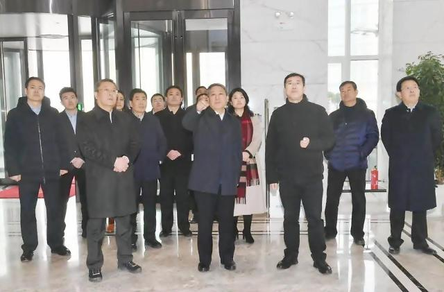 장수핑 서기, 옌타이 고신구 시찰 [중국 옌타이를 알다(535)]