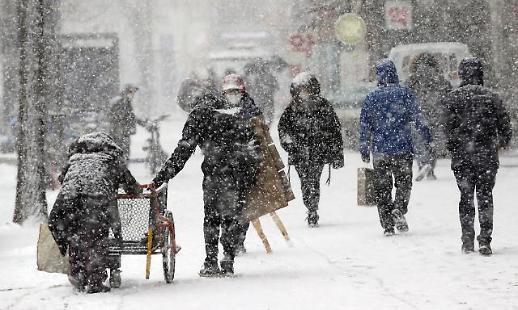 首尔发布大雪警报