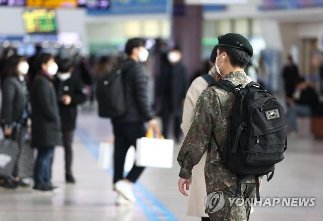 [코로나19] 장병 휴가·외출 통제 31일까지 재연장