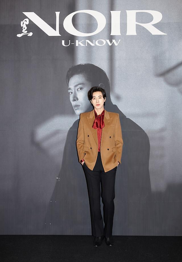 유노윤호, 영화같은 앨범 영끌로 담아낸 누아르···함께 해준 황정민에 감사