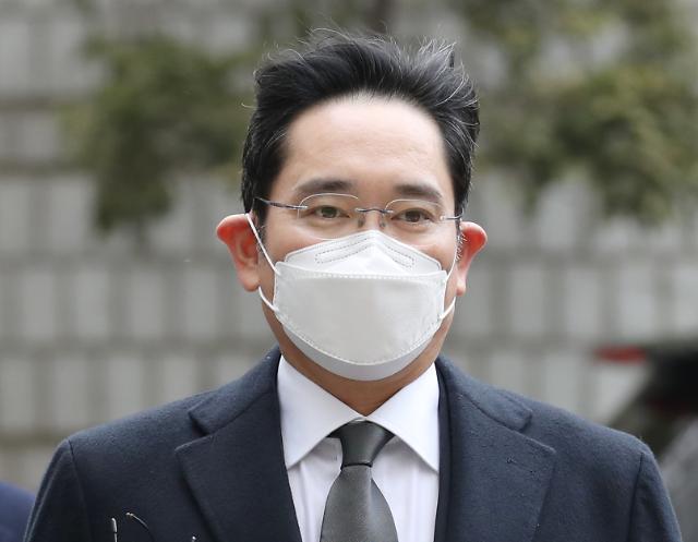 [포토] 국정농단 파기환송심 출석하는 이재용 삼성전자 부회장