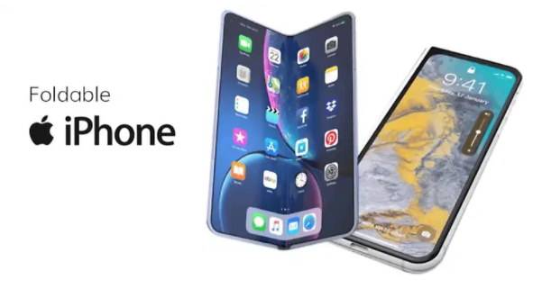 폴더블 아이폰 개발 착수한 애플... 터치ID도 다시 도입