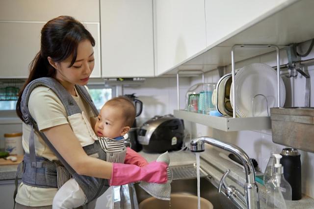 报告:首尔女性做家务时间是男性3.5倍