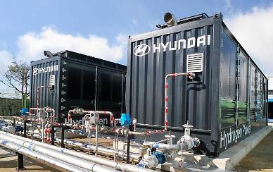 현대차, 독자기술 기반 수소연료전지 발전 시스템 본격 가동