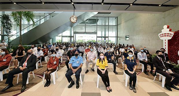 [NNA] 싱가포르, 항공∙해사업계 종사자 백신 접종 개시