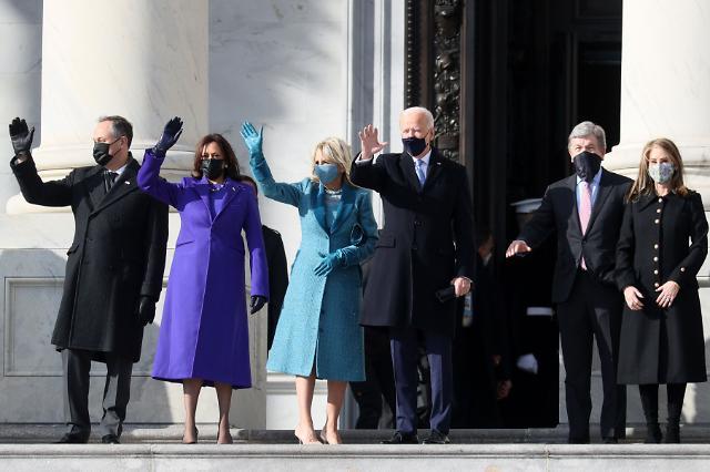 [포토] 취임식장 도착한 조 바이든