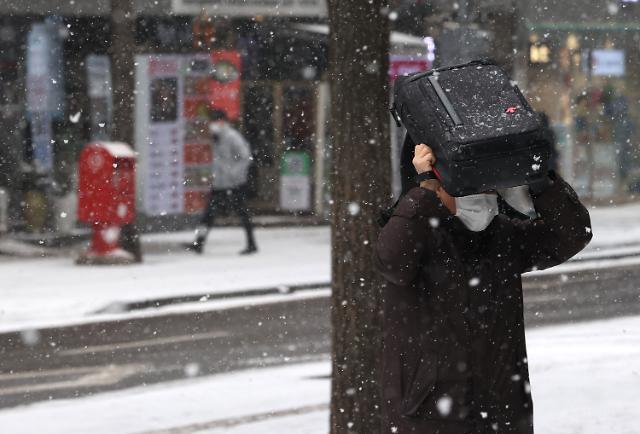 [오늘의 날씨 예보] 오후부터 전국 눈·비...미세먼지 나쁨
