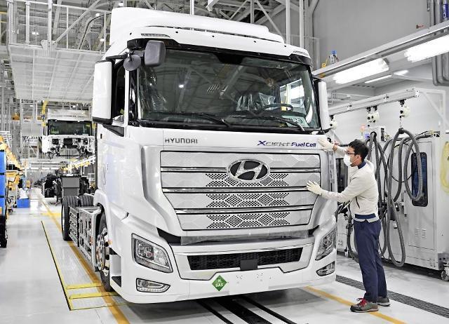 [단독] 현대차, 수소트럭 엑시언트 이스라엘서도 달린다
