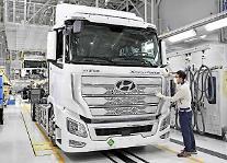 現代自の水素トラック「エクシエント」、イスラエルでも走る