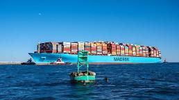 .LA-bound Maersk containership loses some 750 containers overboard in Pacific.