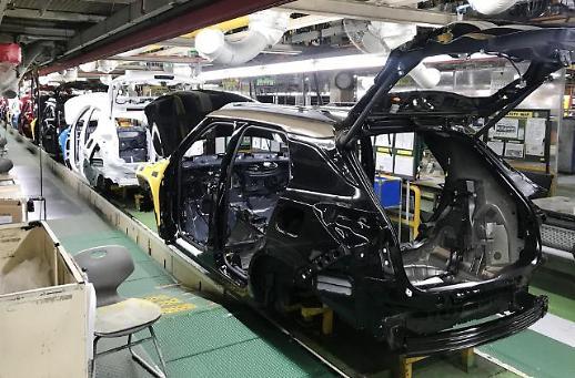韩国去年汽车产量同比减少11% 创16年最低纪录