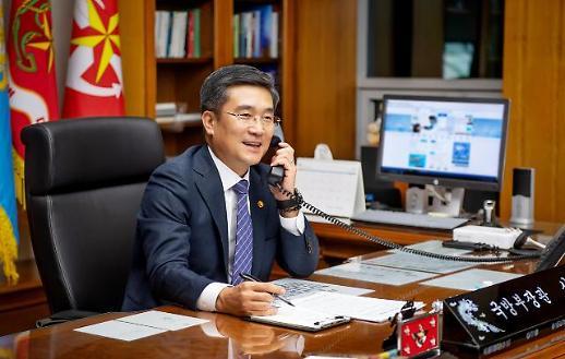 韩美防长首次通话 强调巩固韩美同盟