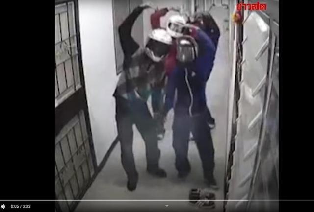 태국 10대 도둑들, CCTV 향해 하트···이유는?