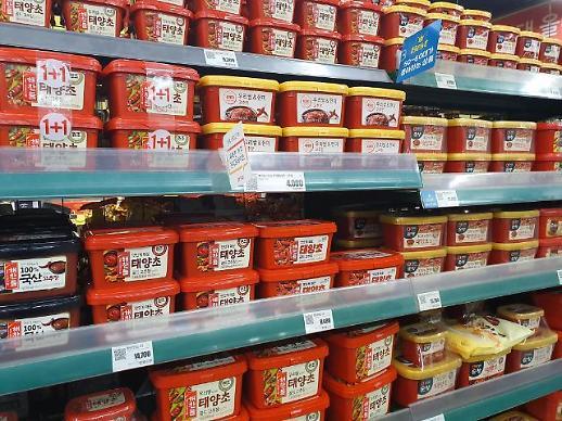 韩式辣椒酱随韩流走向世界 去年出口同比增长35%