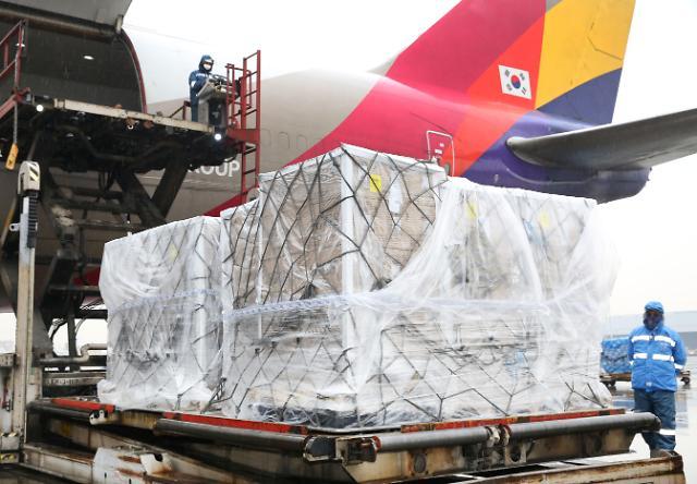 아시아나, 미국산 계란 긴급 수송...조류인플루엔자 대응