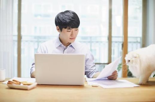 调查:韩职场人士去年平均居家办公52天