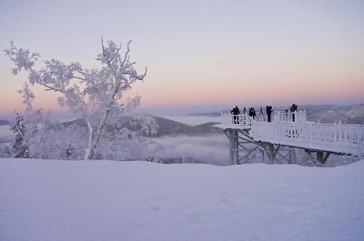 【亚洲云图】中国各地美丽雪景